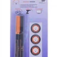 UV & ink marker pen pack with warning stickers